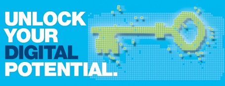 Graphic promoting Digital Fortnight.