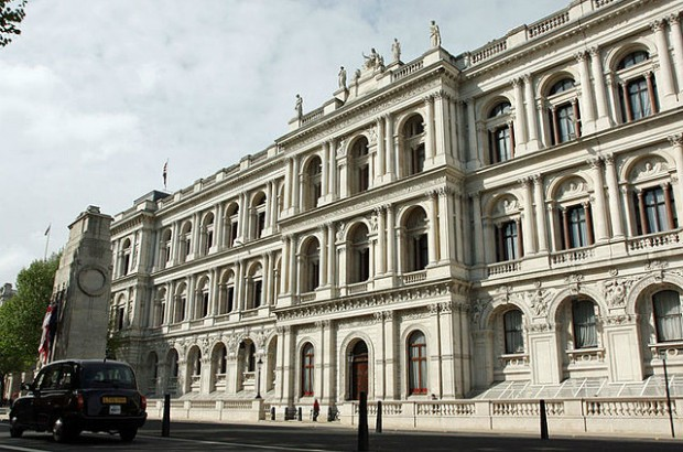 The Foreign & Commonwealth Office main building.