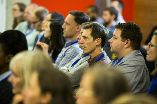 The audience at the GOV.UK Content conference 2015