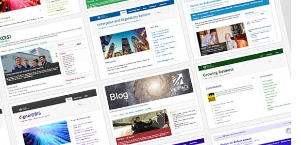 Screenshot of BIS blogs