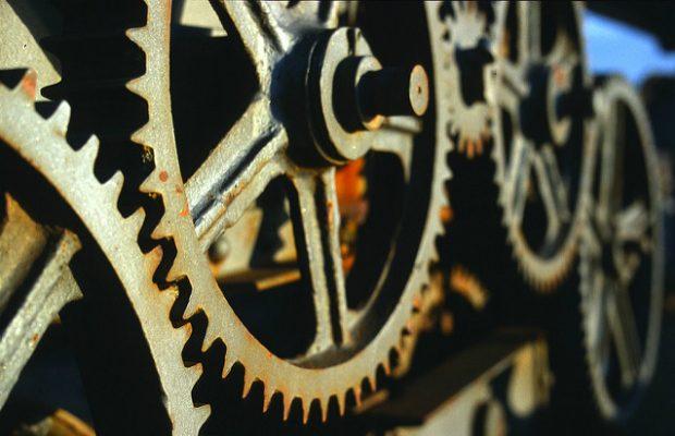 Crane gears.